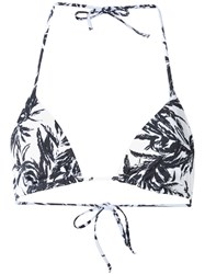 Onia 'Megan' Triangle Bikini Top White