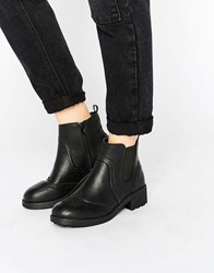 New Look Chunky Chelsea Boots Black