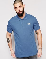 The North Face Polo Shirt With Logo Blue