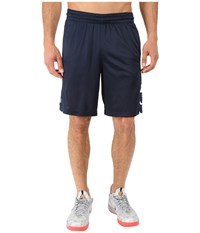 Nike Elite Stripe Short Obsidian White Obsidian White Men's Shorts Black