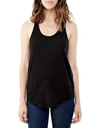 Alternative Apparel Cotton Racerback Tank Top Black