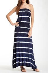Hodges Collection Summer Tube Dress Blue