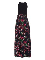 Proenza Schouler Tropical Floral Print Silk Maxi Dress