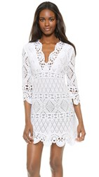Temptation Positano Crochet Dress White