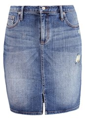Banana Republic Denim Skirt Medium Wash Blue