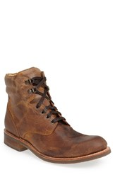 Men's Sendra 'Traveler' Round Toe Boot Camel Ruff
