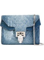 Philipp Plein 'Skyscraper' Crossbody Bag Blue