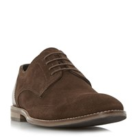 Howick Babbits Mixed Material Gibson Shoes Brown