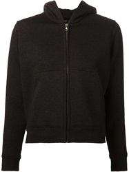 Marc Jacobs Embroidered Star Hoodie Black