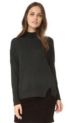 J Brand Acacia Turtleneck Sweater Royal Green