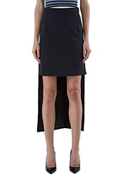 Preen Vera Split Level Skirt Black