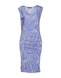 Guess By Marciano Knee Length Dresses Acid Green