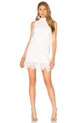 Lucy Paris Babydoll Dress White