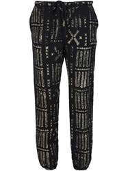 Sam And Lavi 'Ella' Batik Trousers Black