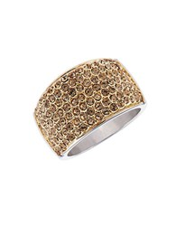 Michela Pave Dome Ring Gold