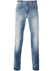Dolce And Gabbana Slim Fit Jeans Blue