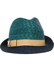 Jacob Cohen Polka Dot Grossgrain Hat Green