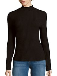 Minkpink Seven Wonders Cotton Blend Pullover Black