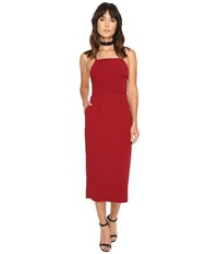 Stone_Cold_Fox Camellia Dress Red Honeycomb Women's Dress