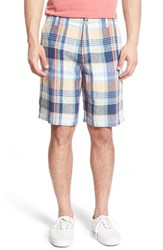 Men's Tommy Bahama 'Madras To The Max' Plaid Linen Shorts