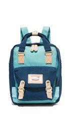 Doughnut Mini Macaroon Backpack Sky Blue Navy