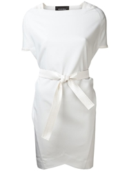 Boudicca Cubic Dress White