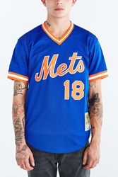 Mitchell And Ness New York Mets Darryl Strawberry Blue
