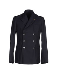 M.Grifoni Denim Suits And Jackets Blazers Men Dark Blue