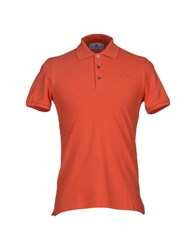 Peuterey Topwear Polo Shirts Men Orange