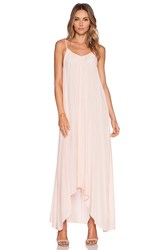 Pink Stitch Resort Maxi Dress Pink