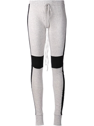 Lost And Found Contrast Leggings Grey