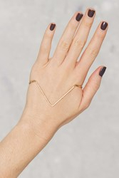 Nasty Gal Get To The Point Palm Cuff