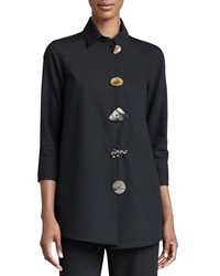 Caroline Rose Stretch Gabardine Travel Jacket Women's