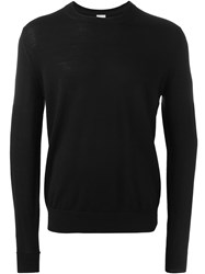 Paul Smith Crew Neck Jumper Black