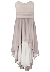 Swing Cocktail Dress Party Dress Silver Cloud Grey