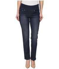 Jag Jeans Petite Peri Pull On Straight In Anchor Blue Anchor Blue Women's Jeans