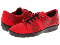 Arcopedico Leta Red Women's Lace Up Casual Shoes