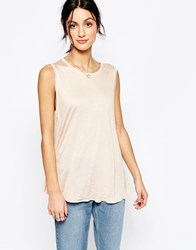 Only Sleeveless Blouse Pink