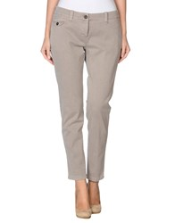 Cappellini Trousers Casual Trousers Women Grey