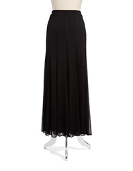 Marina Floor Length Skirt Black