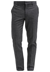 Farah Trousers Black Mottled Black