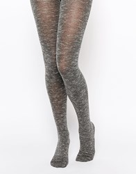 Jonathan Aston Mellow Textured Slub Tights Black