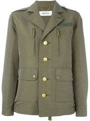 Muveil Military Jacket Green