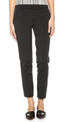 Vince Fitted Pintuck Trousers Black