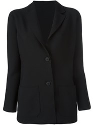 Issey Miyake Cauliflower Single Breasted Blazer Black
