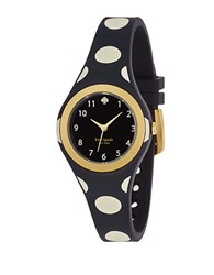 Kate Spade Ladies Rumsey Polka Dot Watch Black