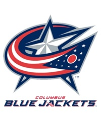 Rico Industries Columbus Blue Jackets Static Cling Decal Team Color