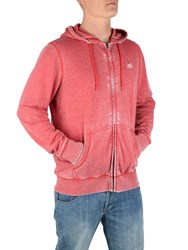 Urban Beach Full Zip Hoody El Nido Blue Washed Red