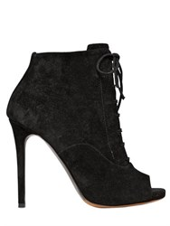 Tabitha Simmons 110Mm Pace Suede Lace Up Boots