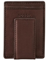 Fossil Ingram Magnetic Multicard Wallet Brown